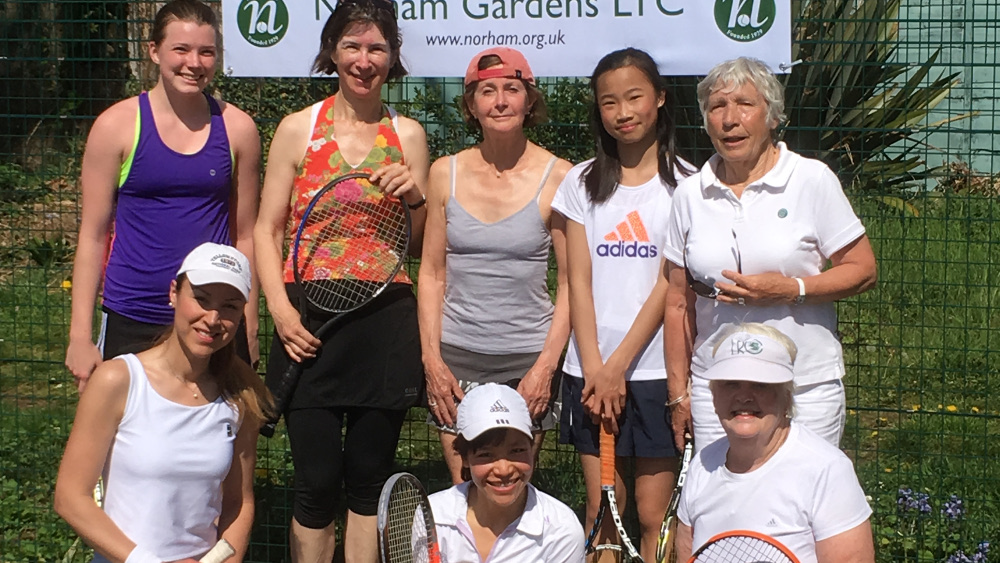 Norham ladies squad - a carefully selected blend of youth and ... experience