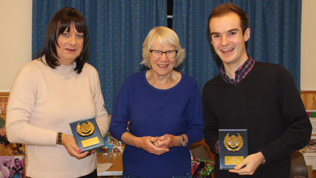 Left to right: Suzy Leigh, Councillor Jean Fooks, and Lewis Willcocks