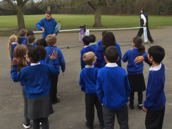 Gabriele at New Marston Primary
